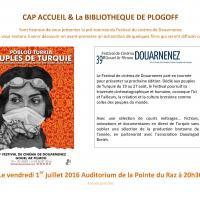 Pré-tournée du Festival du Cinéma de Douarnenez, Pointe du Raz