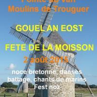 Fete de la Moisson Pointe du Van 02 août 2015